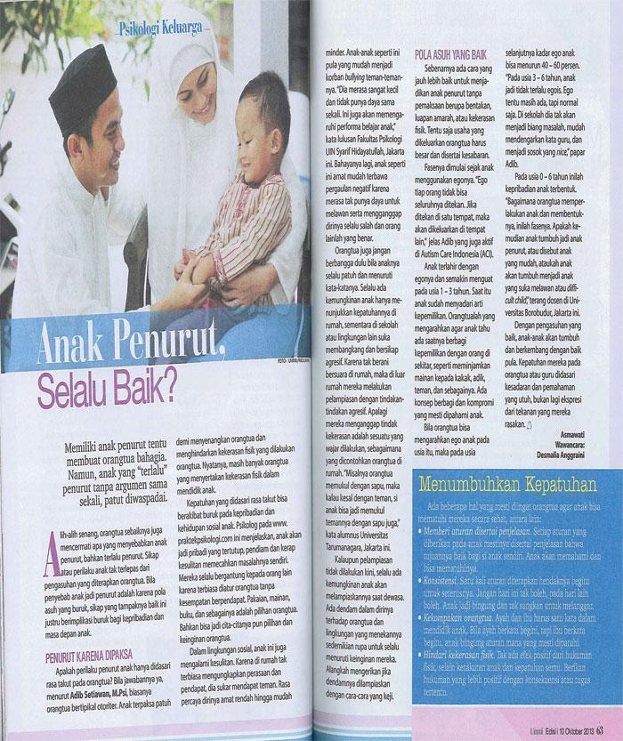 Ummi Edisi 10 Oktober 2013